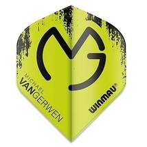 Winmau Mega MVG Green and Black Standard Dart Flights - $1.75