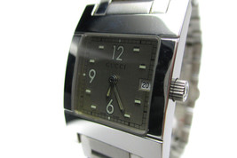 Auth GUCCI 7700L Silver Dial Stainless Steel Quartz Women's Watch GW9472L - $250.78 CAD