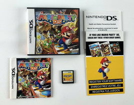 Nintendo DS Mario Party DS - Complete w/Cartridge Case & Manual - $19.79