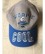 Kid's Embroidered Scoopie Culver's Baseball Cap Adjustable Back Blue & Gray - $15.79