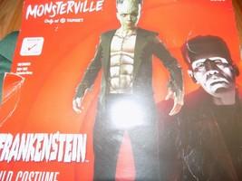Size Medium 8-10 Universal Studios Monsterville Frankenstein Halloween C... - $25.00