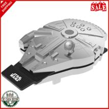Star Wars Millennium Falcon Waffle Maker Long Lasting Nonstick Plates Si... - $77.25