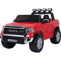 KIDS VIP Limited Official 2 Seats Toyota Tundra 2x12v Ride on Truck, Car... - $529.99