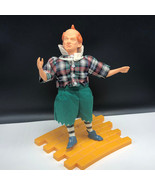 TURNER WIZARD OF OZ DOLL 1987 VINTAGE figure loew ren mgm present Lollip... - $118.80