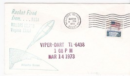 Viper Dart Rocket Fired From Wallops Island Va Mar 14 1973 - $1.98