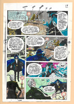 Original 1975 Phantom Stranger 38 DC comic book color guide production a... - $99.50
