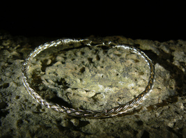 Ritual Of Dna Awakening & Activation Silver Unisex Bracelet Izida No Djinn - $333.00