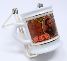 Franklin Mint Porcelain Coffee Mug Corner Store Tea Cup Smith Bros Co Co... - $21.24