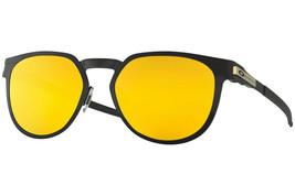 Oakley Perforadora Hombre Mujer Gafas Sol Redondas Oo4137-03 Negro Satin... - $209.07