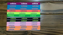 New Unisex Adidas Running 12 Piece Set HEADBANDS Adidas Logo All Sport #15 - $40.00