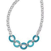 Avon Fragrant Garden Link Frontal Necklace  - $11.99