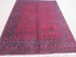 Size:6 ft by 8 ft Handmade Rug Afghan Tribal Khal Mohammadi Area Carpet - $890.00