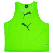 Puma Training BIB Team Pinnies Scrimmage Vest Soccer Football Green 65398343 - $15.99