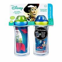 Disney Pixar Toy Story 4 Vasos Para Beber Con Boquilla Rigida De Aislami... - $14.98