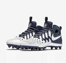 Nike Huarache V 5 LAX  Navy White 807142 410 Lacrosse LX Thompson SZ11 NEW - $37.04