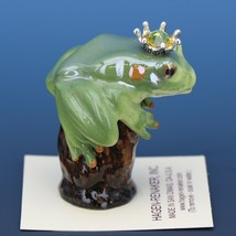 Birthstone Tree Frog Prince November Citrine Miniatures by Hagen-Renaker image 2