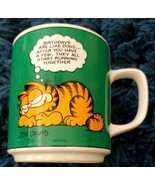 "Vintage 1978 Garfield by Jim Davis Coffee Cup , Birthdays are like Dogs""... - $14.84"