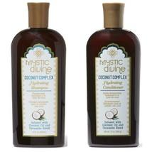 Mystic Divine Coconut Complex Hydrating Shampoo and Conditioner Set 12 o... - $24.75