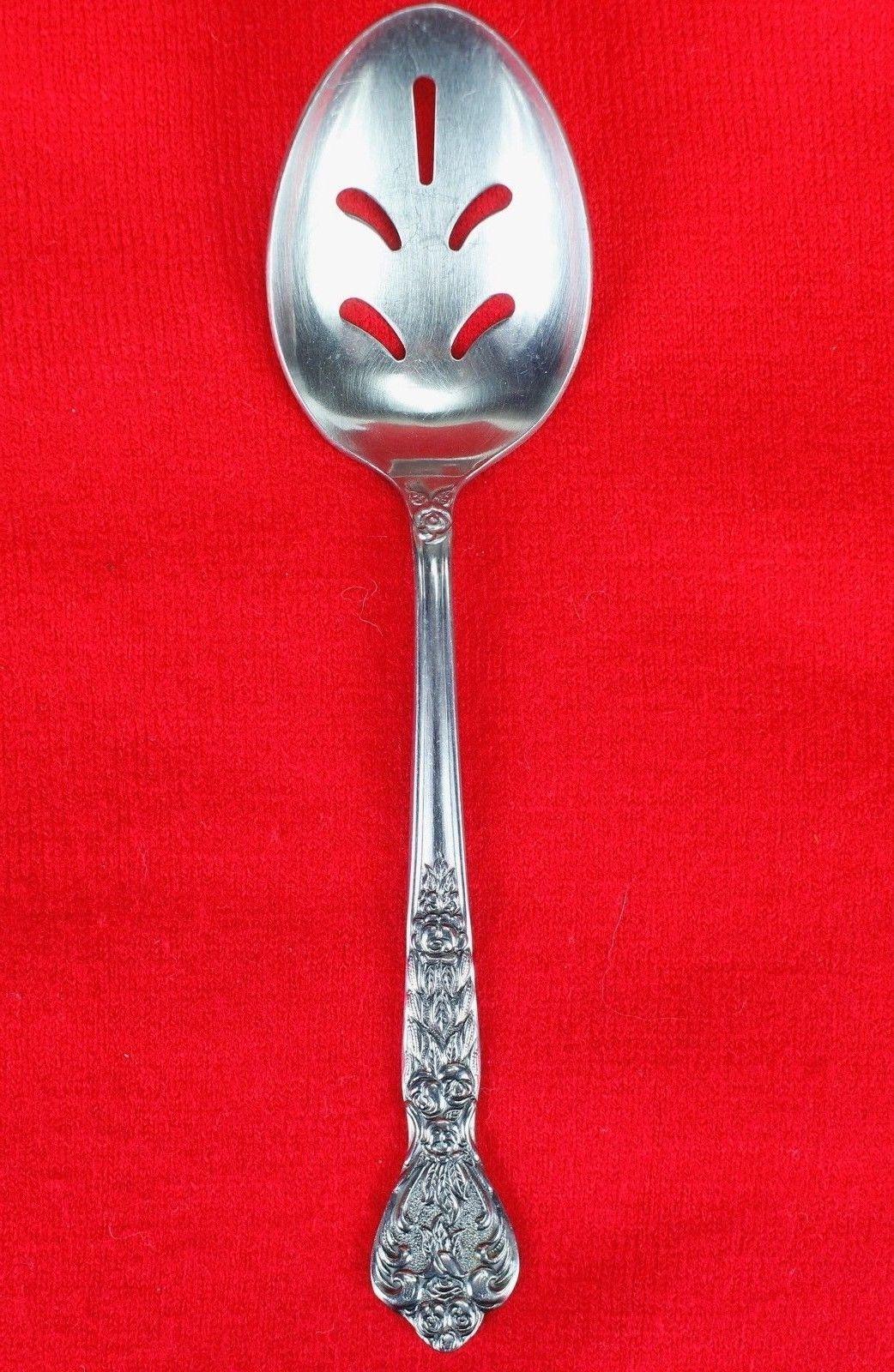 Pierced Serving Spoon Merchandise Service Versailles Stainless Glossy Flatware
