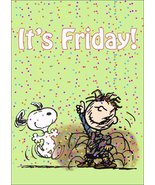 """Peanuts Pigpen Snoopy """"It's Friday!"""" Stand-Up Display - Charlie Brown Ca... - $15.99"""