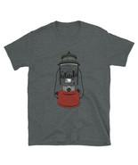 Lantern Wanderlust Camper Van Mountains Hiking Short-Sleeve Unisex T-Shirt - $18.50+