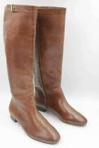 Ann Taylor Jorga Women Riding Boots Size US 8M Brown Alligator Print Lea... - $14.00