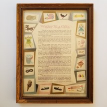 What is a Girl Alan Beck Framed Print Vintage 1950s New England Life Ad ... - $25.00