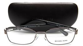 New Michael Kors Mk 7003 Menorca 1009 Gunmetal Eyeglasses Frame 54-17-140 B36mm - $63.69