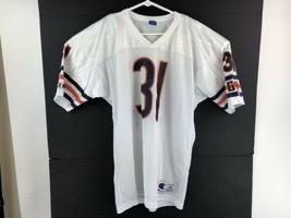 Vtg Champion Chicago Bears Rashaan Salaam #31 Away Jersey Sz 44  - $27.22