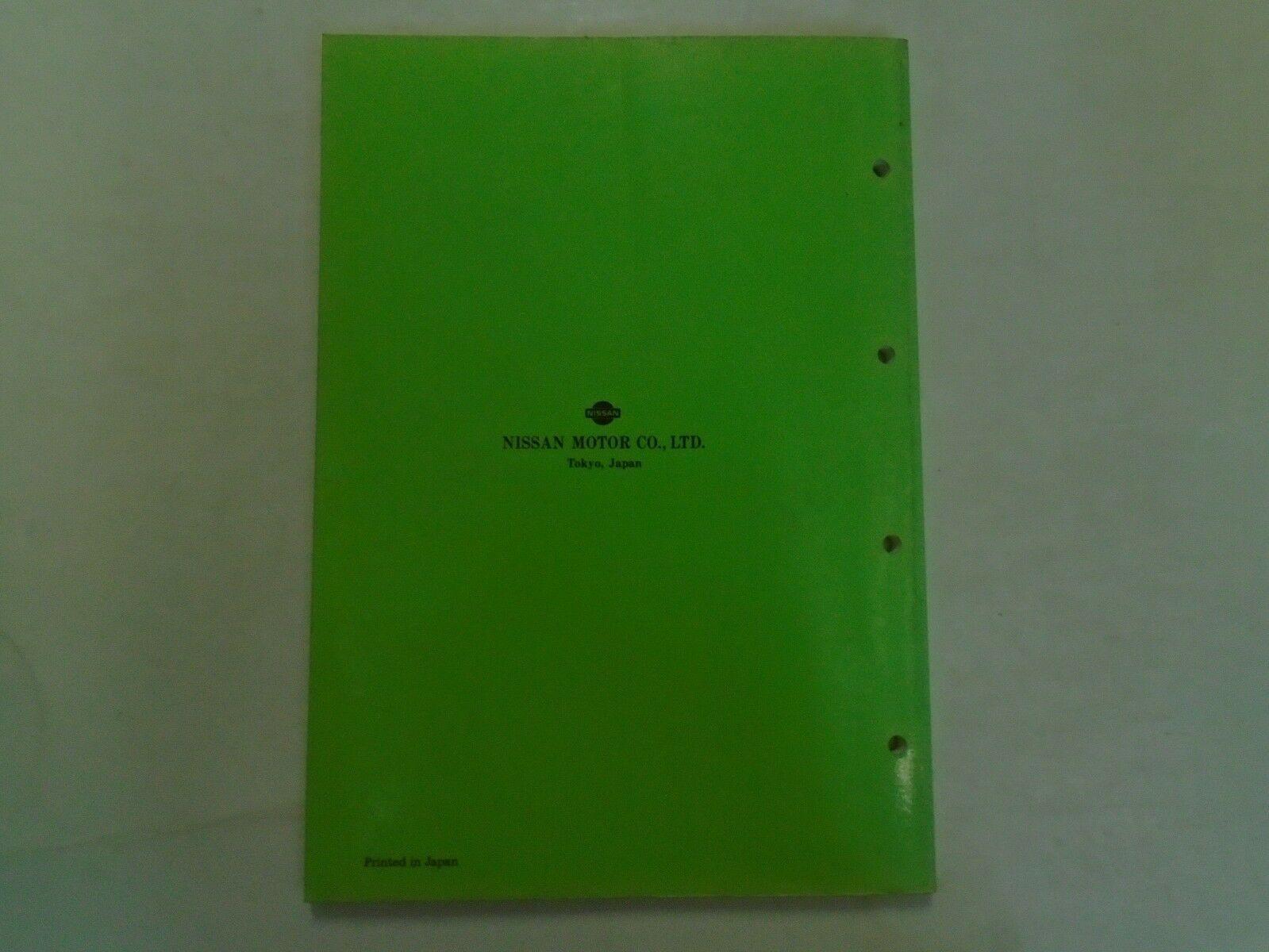 Nissan Marine Outboard Motor NS 40D2 • NS 50D2 Teile Katalog Manuell OEM image 5