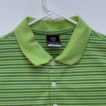 Nike Golf Mens Multicolor Striped Polo Large - $23.73