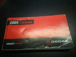 2005 Dodge Caravan Owner's Manual - $13.82