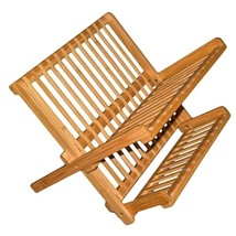 Totally Bamboo 20-8517 Compact Dish Rack (Brown) - $42.52