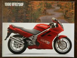 90 Honda VFR750F Vfr Nos Oem Dealer's Sales Sheet Brochure 750F 750 F - $35.88