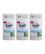 Tom's of Maine Natural Long Lasting Deodorant Multi Pack, Aluminum Free ... - $39.19