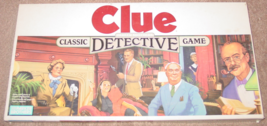 CLUE CLASSIC DETECTIVE GAME PARKER BROTHERS 1986  COMPLETE EXCELLENT - $15.00