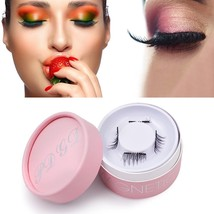 Magnetic Eyelashes, Magnetic Lashes Extensions Short 3D Reusable No Glue Ultra S - $28.72