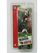 "Donovan McNabb EAGLES Emmitt Smith CARDINALS 2 pack McFarlane NFL 3"" Fig... - $9.87"