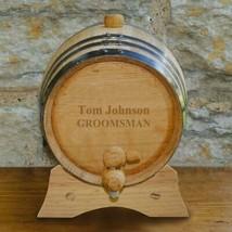 Personalized Whiskey Barrel - Oak - 2 Liter - $69.99