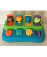 Fisher Price Pop Up Toy My Little Snugamonkey Safari Jungle Animals Baby... - $14.99
