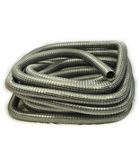 Vacuum Cleaner Hose 1 1/4 50' Wire Reinforced Black - $73.66