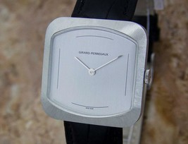 Girard Perregaux Swiss Made 1970s Mens Manual Stainless Steel 33mm Watch... - $1,333.08
