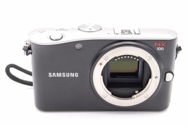 Samsung EV-NX100 14.6 MP Digital Camera BLACK - BODY ONLY W/ BATTERY AND... - $249.99