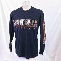 Vintage 1999 Tupac Rap Tee T Shirt 90s Long Sleeve 2pac Hip Hop Tour Pro... - $149.99