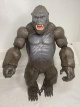 "King Kong Poseable Action Figure Skull Island 2016 18"" Lanard Toys Large - $44.55"