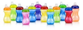 Nuby 2-Pack No-Spill Easy Grip Cup 10 Ounce Colors May Vary - $14.12