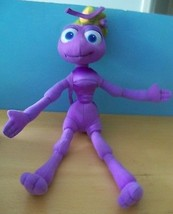 Stuffed Disney Pixar Bugs Life PURPLE Princess Dot toy - $19.80