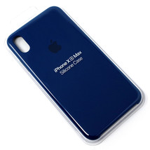 Genuine OEM Apple iPhone XS Max Silicone Case - Blue Horizon - $23.99