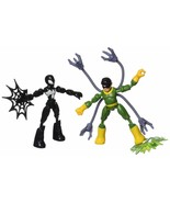 Spider-Man Marvel Bend and Flex Black Suit Vs. Doc Ock Action Figure Toy... - $31.97