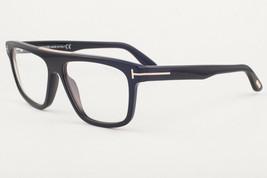 Tom Ford 628 CECILLIO Shiny Black / Clear Sunglasses FT628 001 57mm - $214.62